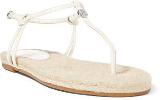 Ralph Lauren Makayla Leather Sandal