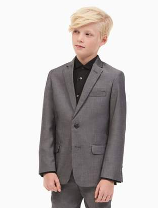 Calvin Klein boys twill jacket
