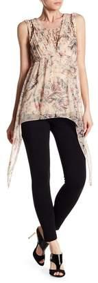 Haute Hippie Runaway Floral Print Silk Blouse