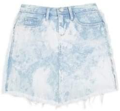 Blank NYC Girl's Washed Gaze Denim Skirt