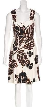 Tibi Sleeveless Knee-Length Dress