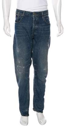 G Star Distressed 3D Tapered Jeans w/ Tags