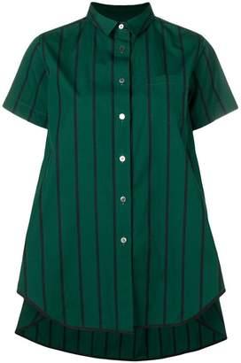 Sacai (サカイ) - Sacai オーバーサイズ ストライプ シャツ