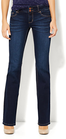 New York & Co. Curve Creator Bootcut Jean - Harlow Blue Wash