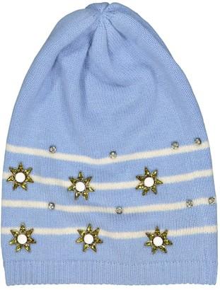 Gucci Blue Cashmere Hats