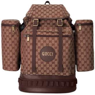 Gucci Large GG canvas backpack