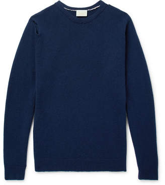 Aries Distressed Wool Sweater