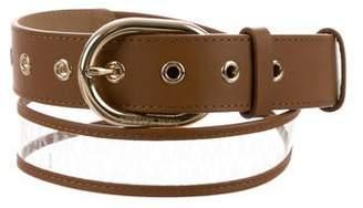 Michael Kors Leather PVC Belt