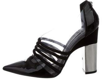 Prabal Gurung Point-Toe Patent Leather Booties
