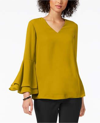 Alfani Petite Bell-Sleeve Blouse