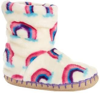Hatley Rainbow Slipper Booties