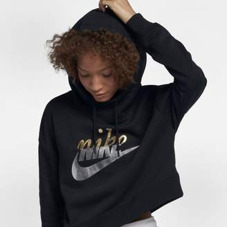 Nike Sportswear Rally Women's Metallic Pullover Hoodie