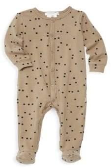 Petit Lem Baby Boy's Stretch Cotton Footed Sleeper