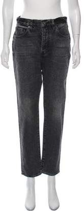 Levi's High-Rise Straight-Leg Jeans w/ Tags