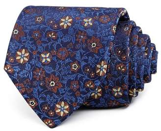Bloomingdale's The Men's Store at Ornate Floral Silk Classic Tie - 100% Exclusive