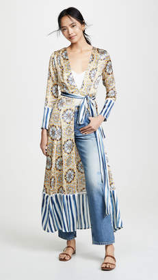 Leone We Are Contrast Maxi Cardigan
