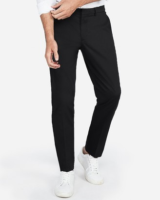 Express Extra Slim Performance Stretch Easy Care Cotton Dress Pant