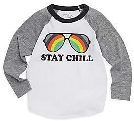 Chaser Little Boy's& Boy's Stay Chill Long-Sleeve Tee