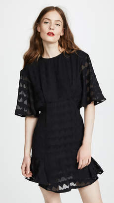 MAISON KITSUNÉ Juliet Frilled Dress