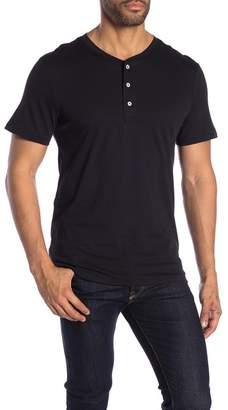 Alternative Short Sleeve Henley Top
