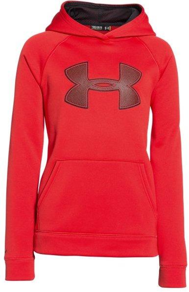 Boys' UA Storm Armour® Fleece Big Logo Hoodie