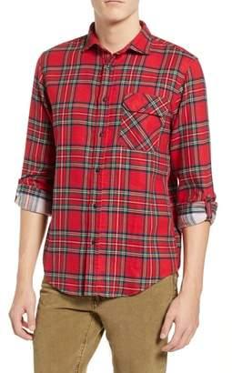 Scotch & Soda Plaid Flannel Shirt