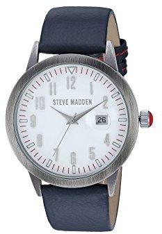 Steve Madden (スティーブ マデン) - Steve MaddenユニセックスOfficer Watch Midnight Watch