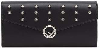 Fendi Continental studded wallet