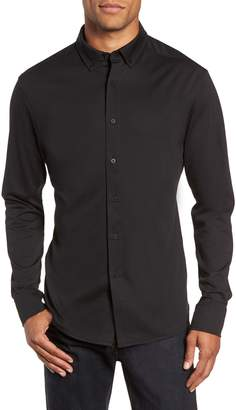Vince Camuto Slim Fit Button Down Collar Sport Shirt