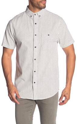 Sovereign Code Croix Pinstripe Regular Fit Shirt