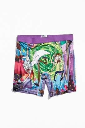 Urban Outfitters Rick And Morty Portal Boxer Brief