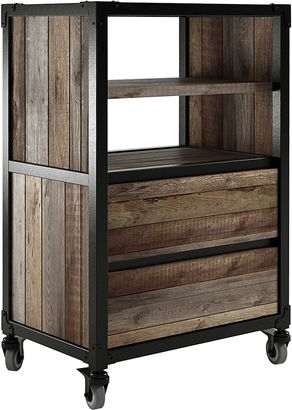 Soundslike HOME Chest of Drawers Atelier 2 Drawer Chest, Black