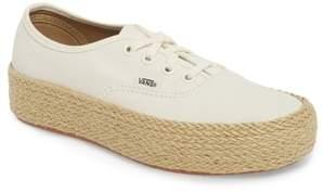 Vans Authentic Espadrille Platform Sneaker