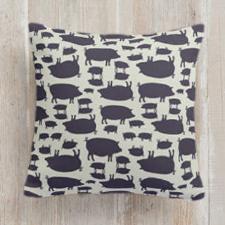 Cochon Self-Launch Square Pillows