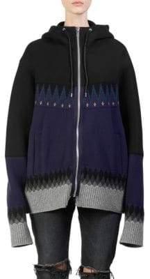 Sacai Nordic Sweater Hoodie