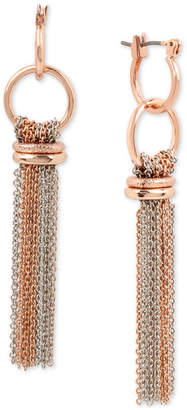 Kenneth Cole New York Two-Tone Chain Tassel Drop Earrings
