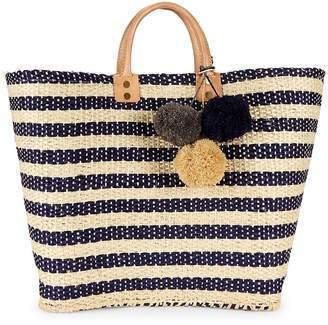Mar y Sol Women's Sahara Striped Tote Bag