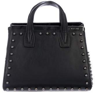 Thomas Wylde Studded Leather Satchel