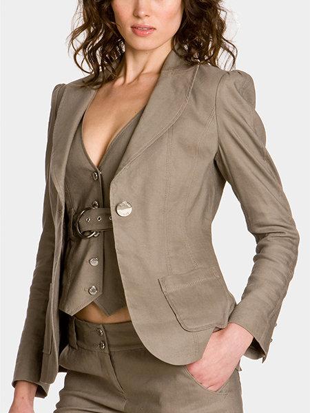 Leah Linen Jacket