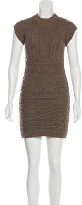 Etro Wool Cable Knit Dress