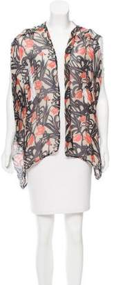 Winter Kate Printed Silk Vest