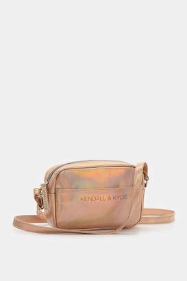 KENDALL + KYLIE Kendall & Kylie Metallic Faux Leather Bag
