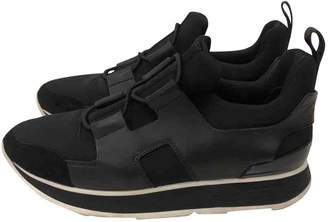Hermes Black Cloth Trainers