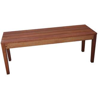 Woodlands Outdoor Furniture 2 Seater Outdoor Wooden Bench
