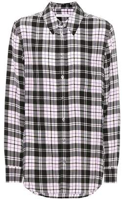 Equipment Reese plaid silk shirt
