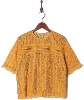 Summer Clearance Sale Max88%Off i MUSTARD 総レースブラウス