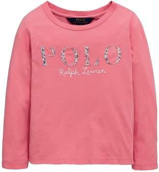 Ralph Lauren Long Sleeve Polo Applique T-shirt