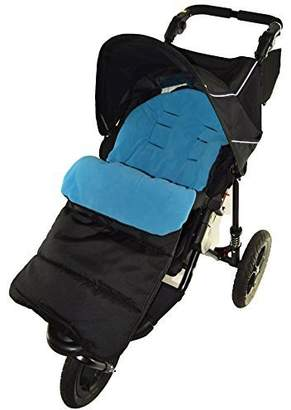 N. Footmuff / Cosy Toes Compatible with Out About Nipper Single 360 Pushchair Ocean Blue