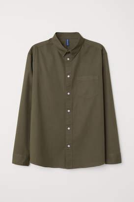H&M Cotton Shirt - Green