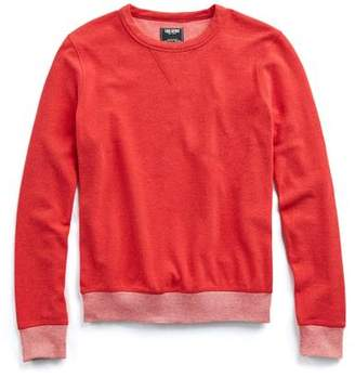 Todd Snyder Terry Sweatshirt in Red